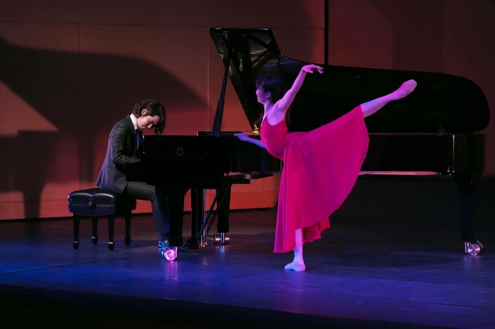 with Keishi Matsumoto (jazz pianist)  photo by Toru Yoshida 吉田 透