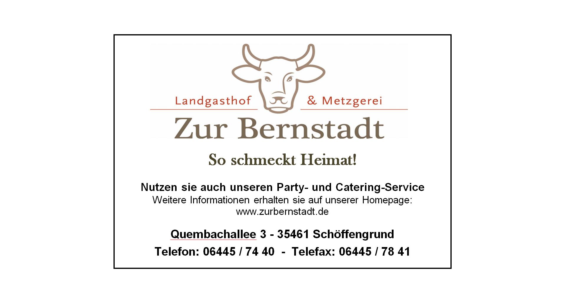 """Landgasthof """"Zur Bernstadt"""""""