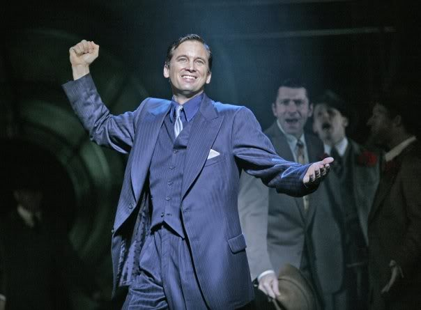 Ian Stenlake as Sky Masterson in Guys and Dolls