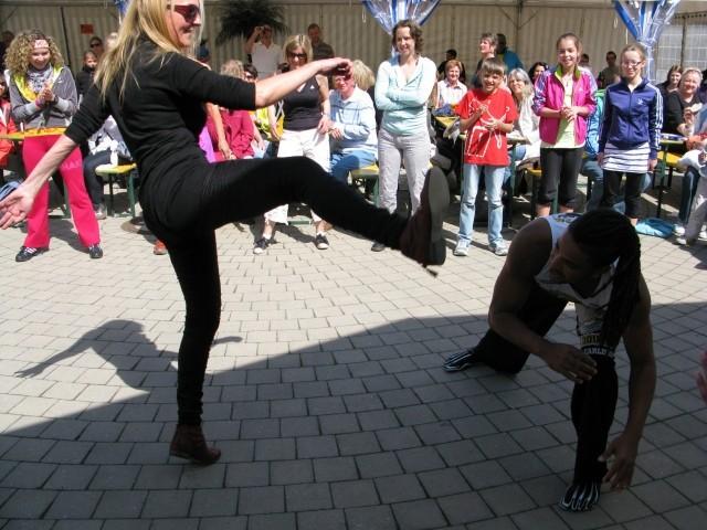 Auch Frauen machen Capoeira mit!