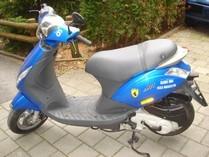 自动挡踏板摩托车