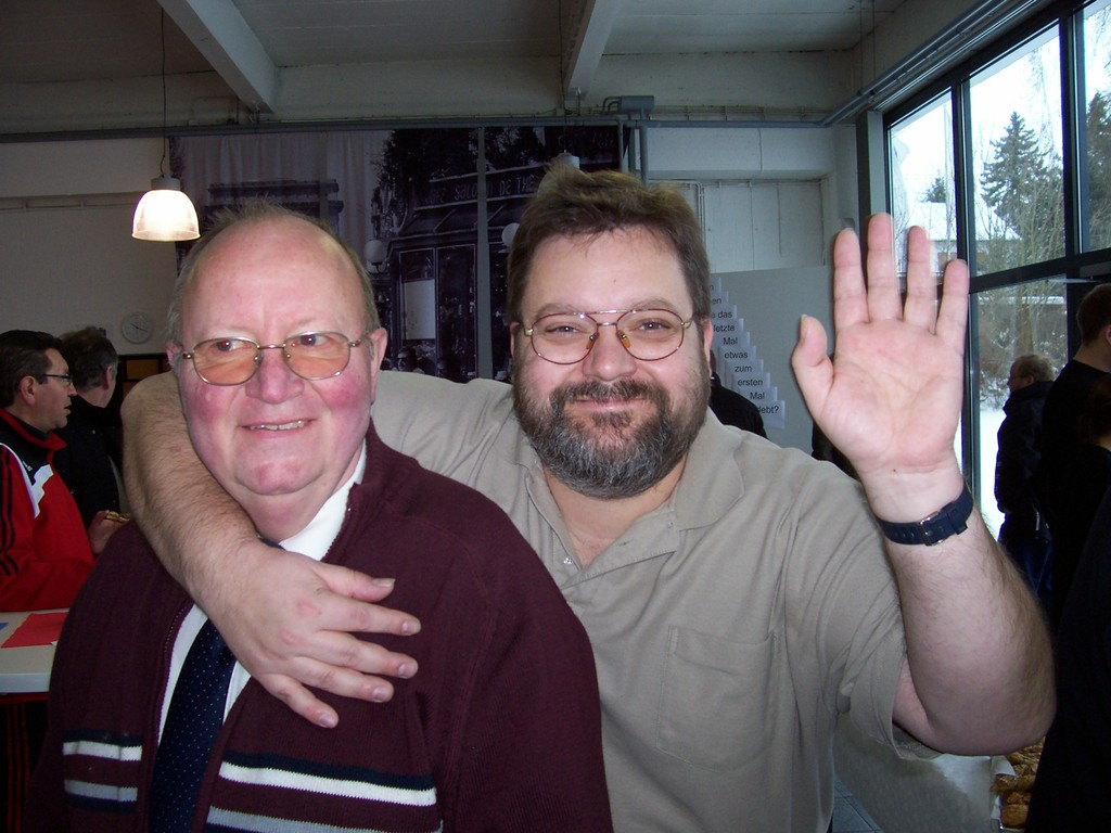 Franz lippek und Michael Blaschke