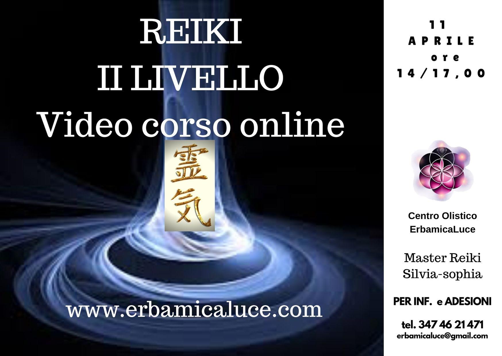 Reiki II livello Video corso