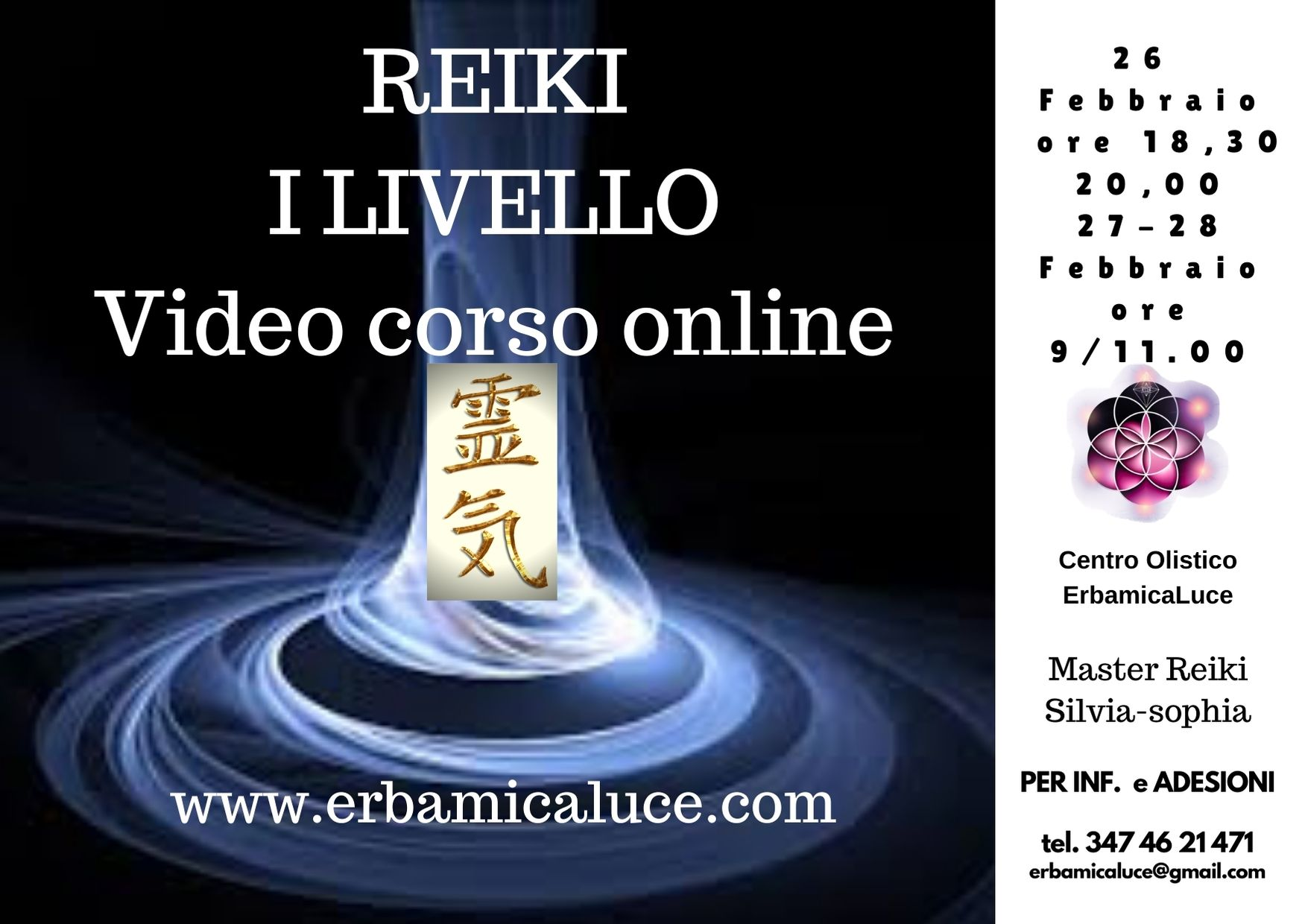 Reiki Video corso