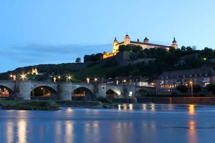 Blick auf Würzburgs Festung -