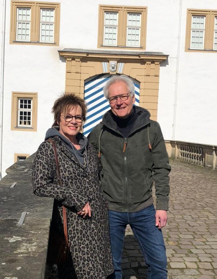 Spaziergang mit meiner Ehefrau Menga. Genau das richtige nach einem (nicht nur) politischem Tag.