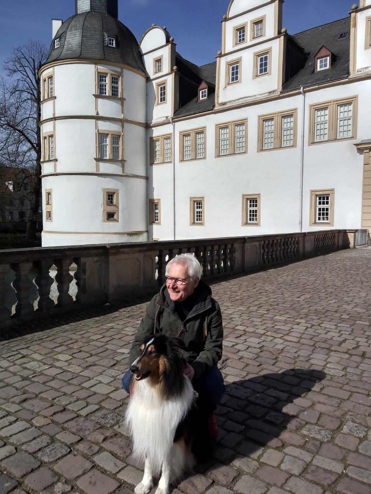 Am Schloss, auch an kälteren Tagen sehr zu empfehlen ...