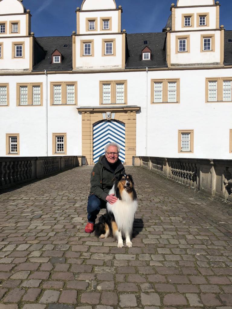 Mit Murphy - als Hund eine Katastrophe, als Mensch unersetzlich (frei nach Johannes Rau).