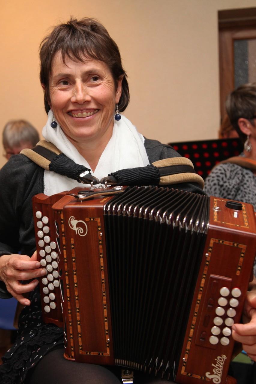 Annie Professeur d'accordéon