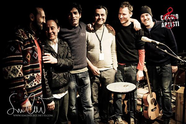 Roma Circolo degli Artisti - Bobo Rondelli Band