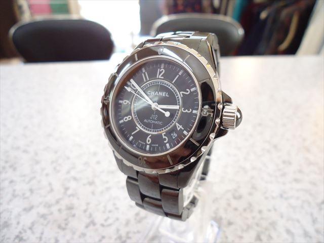 買取実績 シャネル J12 時計