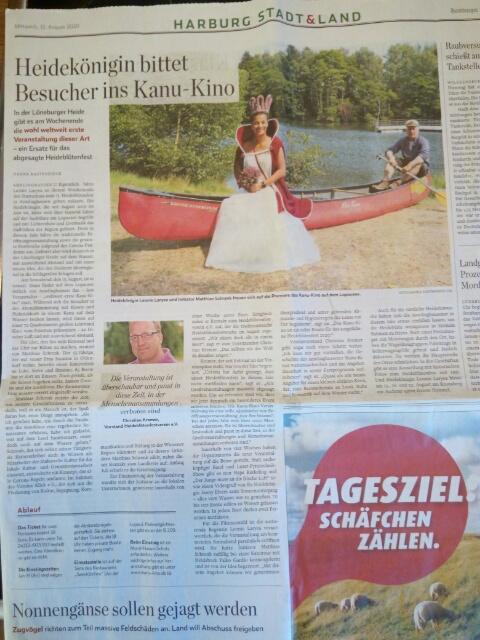 Pressebericht im Hamburger Abendblatt. Vielen Dank an Hanna Kastendieck.
