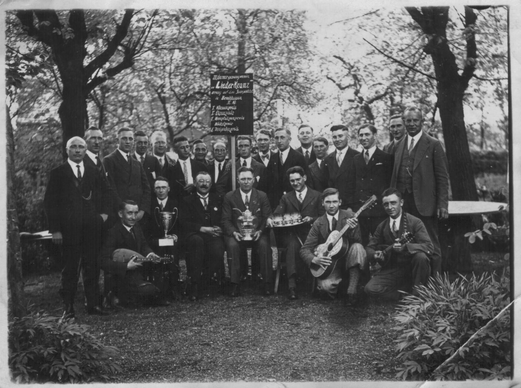 Wettstreit Bruchhausen 1932
