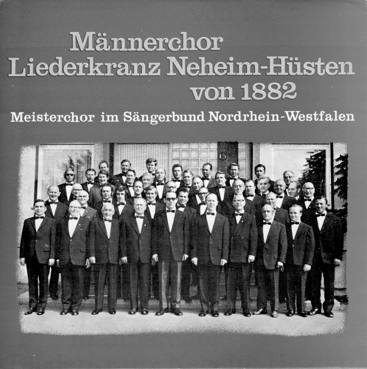 1. Meisterchor 1973 Sauerland-Theater Arnsberg
