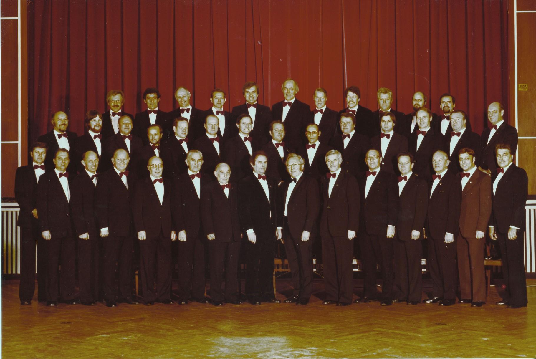 2. Meisterchor 1980 Kulturzentrum Hüsten, Foto Kolpinghaus Hüsten