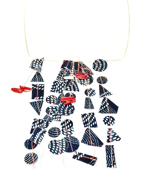 Shibori Necklace