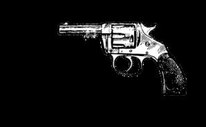 Pistole als Symbol für Trigger