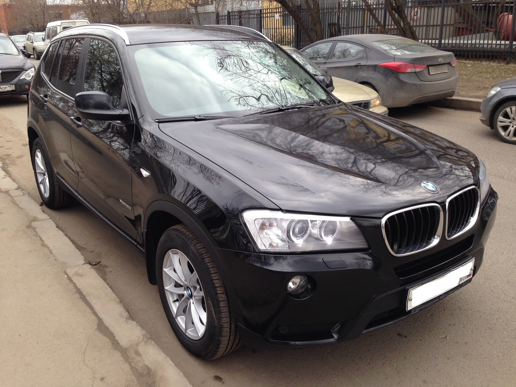 BMW X3 II (F25) Внедорожник 5 дв. 20i xDrive 2.0 AT (184 л.с.) 4WD Цена - 1 450 000руб