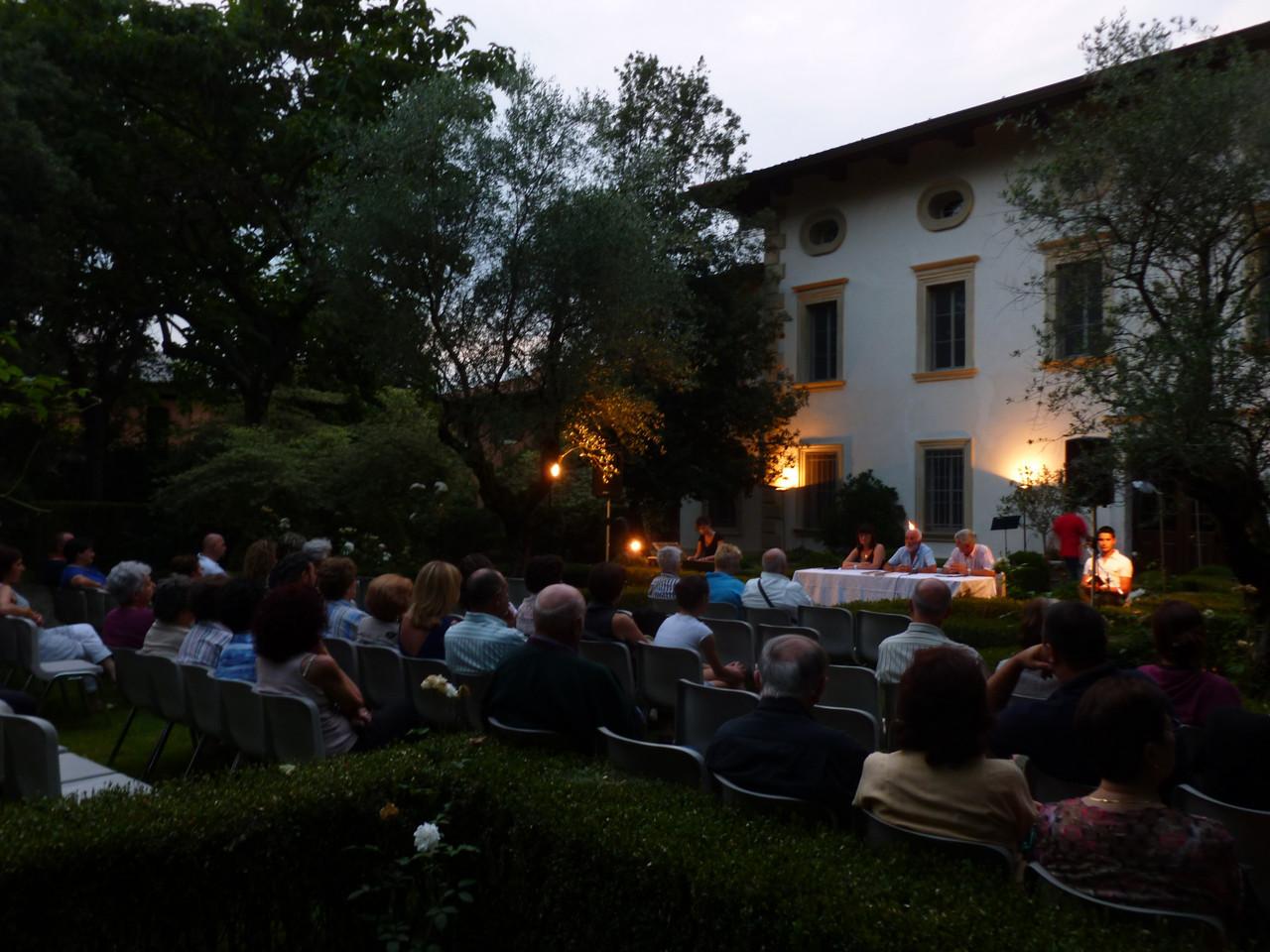 Incontro con l'autore 29-06-2012 Villa Marzotto (già Andervolti) Gaio