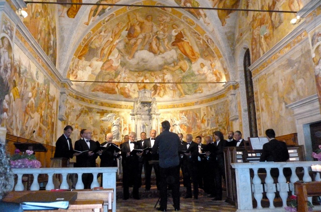 """coro """"Voci Maschili del Contrà"""" di Camolli Casut"""