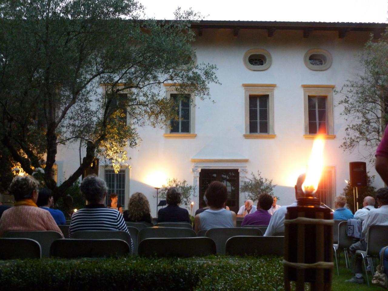 Incontro con l'autore Mario Marcantuoni 29-06-2012 Villa Marzotto (già Andervolti) Gaio