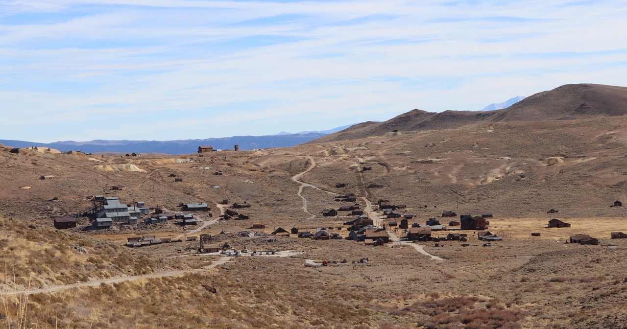 ...and headed down to the Bodie Ghost Town...