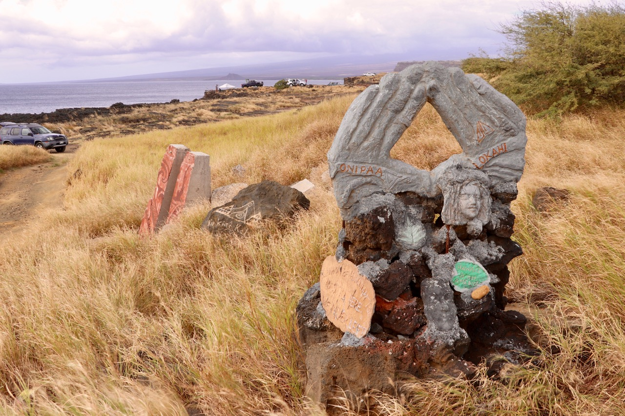 Hawaiian Memorial of the days before American occupation