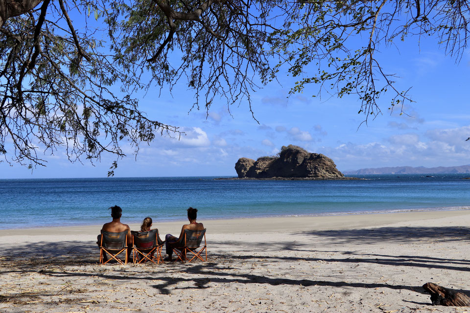 Playa Rajada im norden Costa Rica's