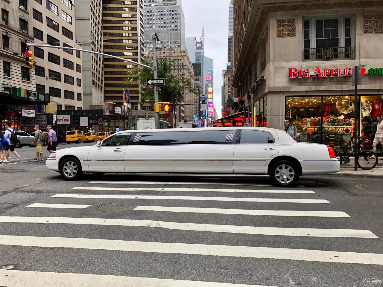 Stretch Limo in New York