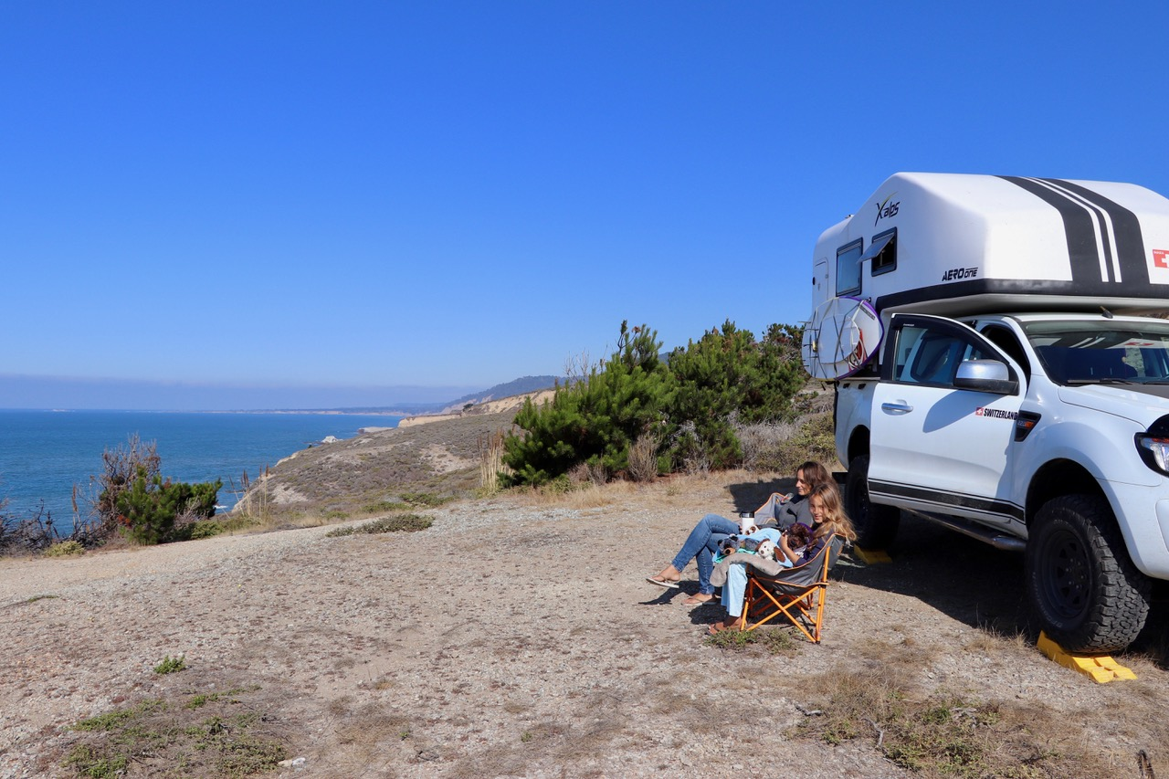 A great spot we found just off Highway 1...thanks to iOverlander App & our 4x4!