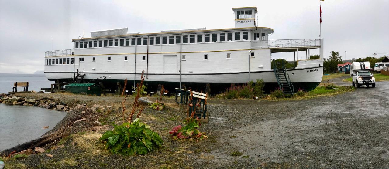 Stranded Steam Boat