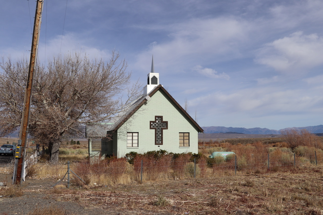 A church in the middle of nowhere
