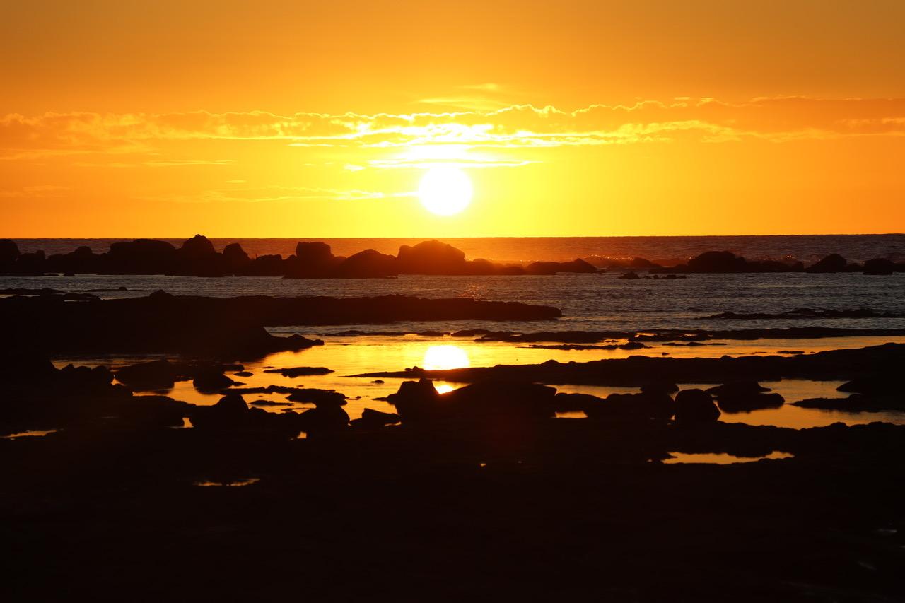 Our last sunset on Big Island