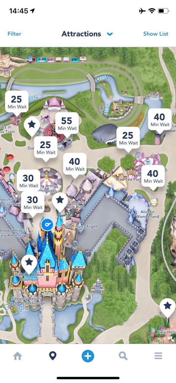 We though Monday would be less busy in Disney Land