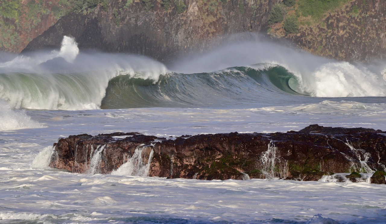 ...and some of those massiv waves
