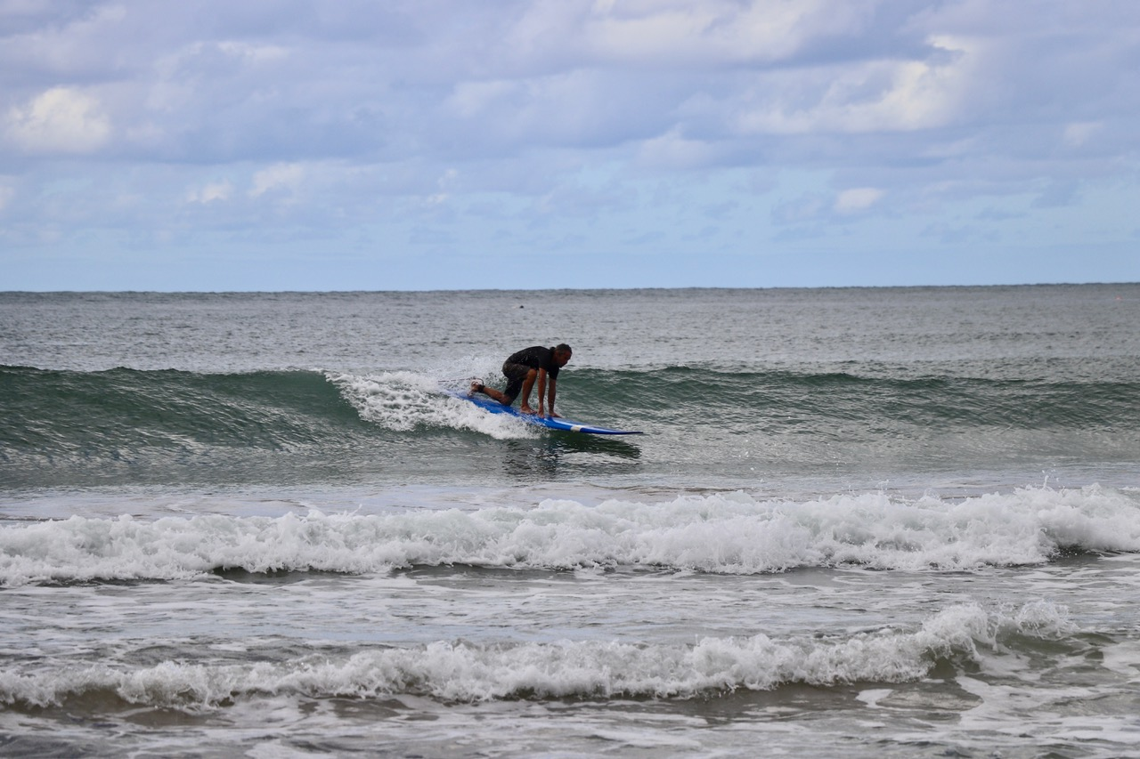 Hanalei Bay is a great place to learn to surf...