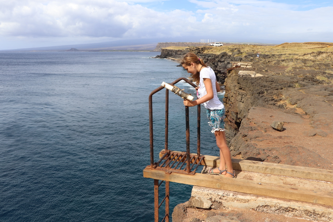 Cliff Jump ramp at South Point