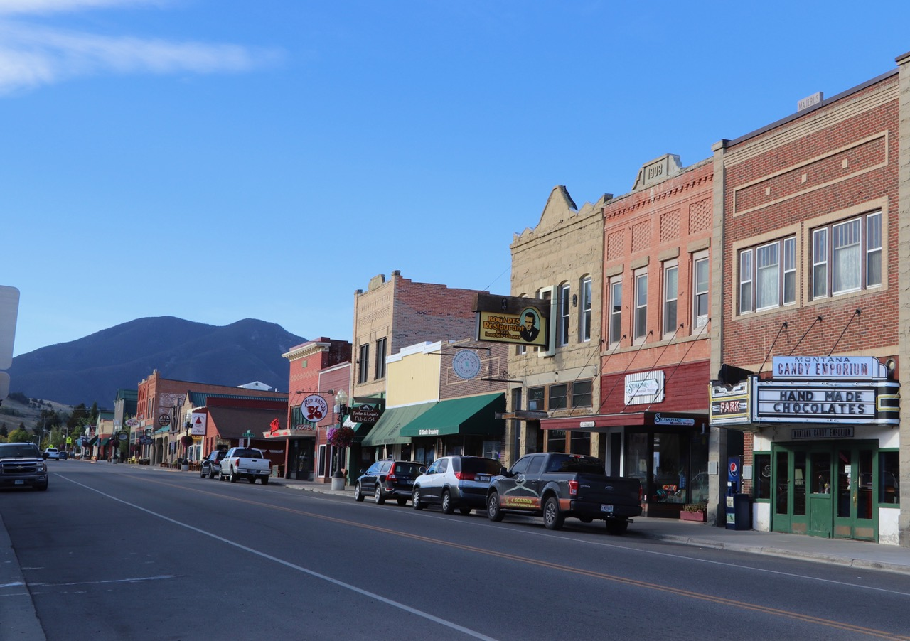 "Cowboy Country Town ""Red Lodge"""