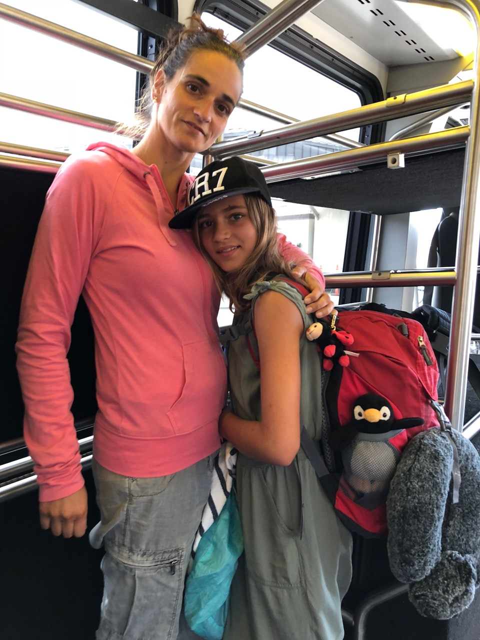Transfer Bus in Honolulu Hawai'i