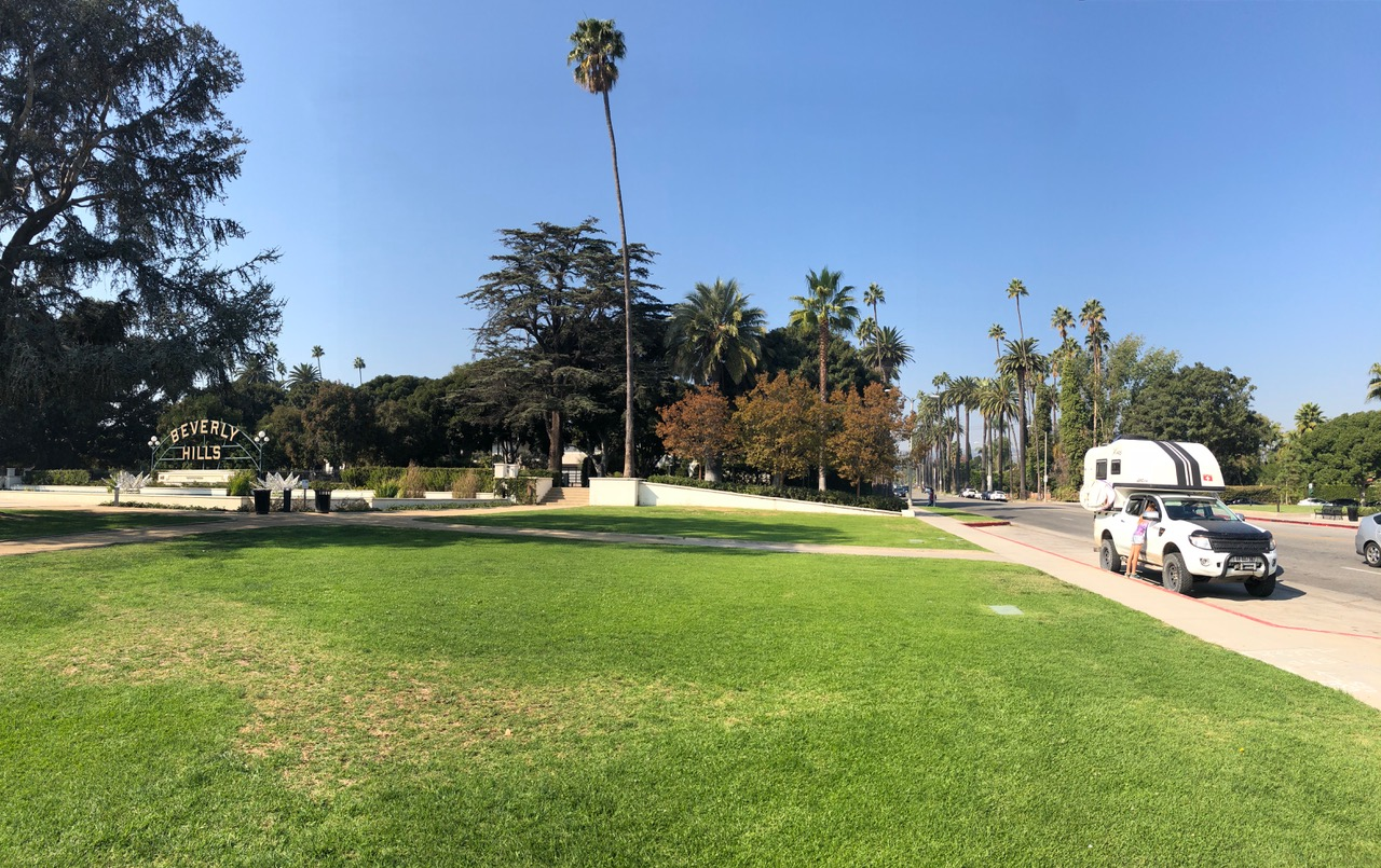 Centre of Beverly Hills