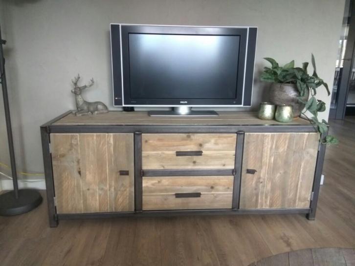 Tv Kast Steigerhout : Steigerhouten tv meubels vertrouwdsteigerhout. de beste kwaliteit