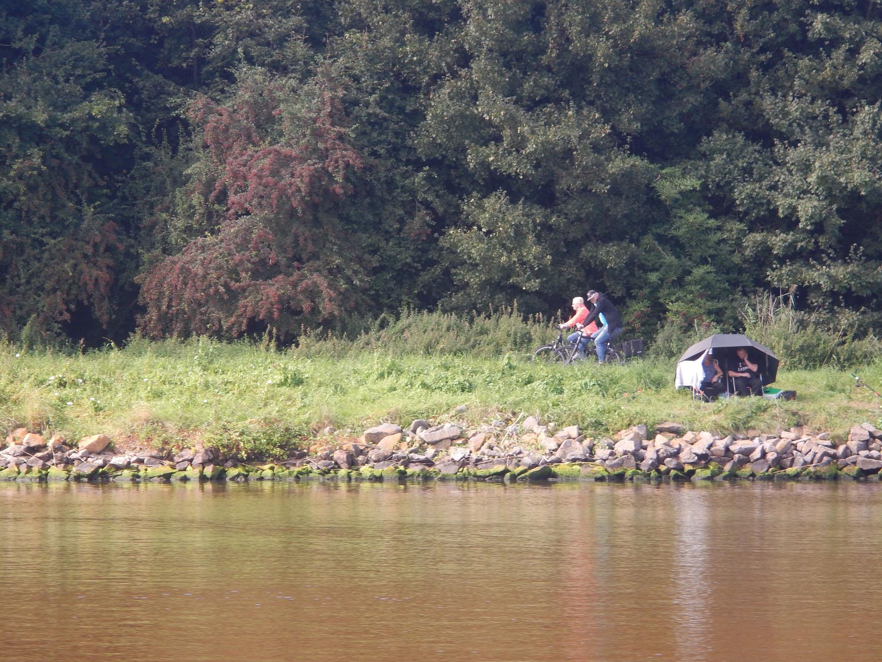 Radler und Angler