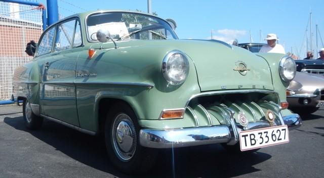 Opel Olympia Cabrio, Baujahr 1954