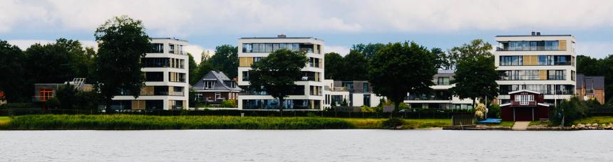 """Der neue Ortsteil """"Freiheit"""" in Schleswig"""