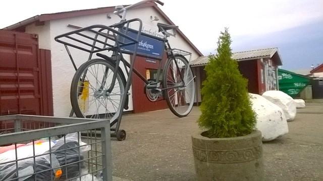 Das Fahrrad für Riesen oder auch noch´n Fahrrad entdeckt
