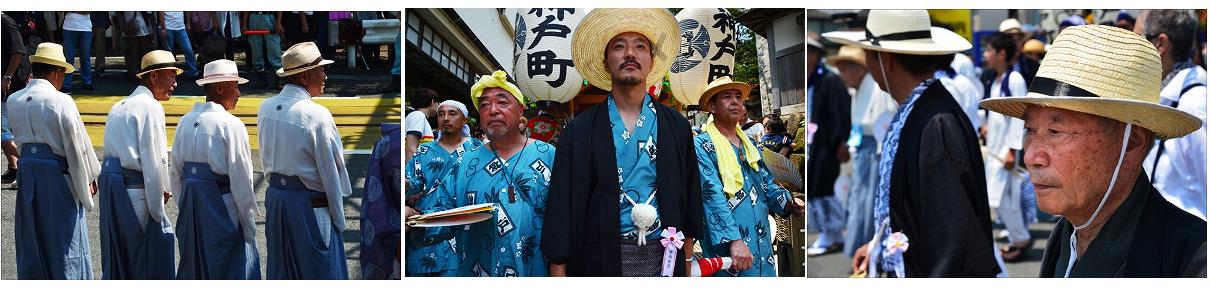 世話役人【組写真】  (藤沢市・江の島)
