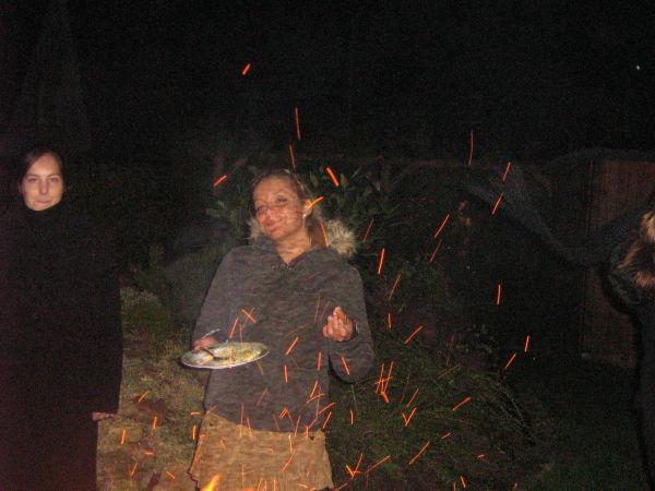 ...Janny immer im Lichterfeuer ;-)