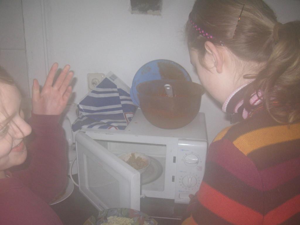 lecker Nudeln.....alla Microwelle... aufgewärmt