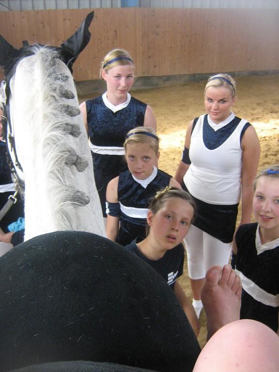 das Turnier aus Pferdesicht ;-)