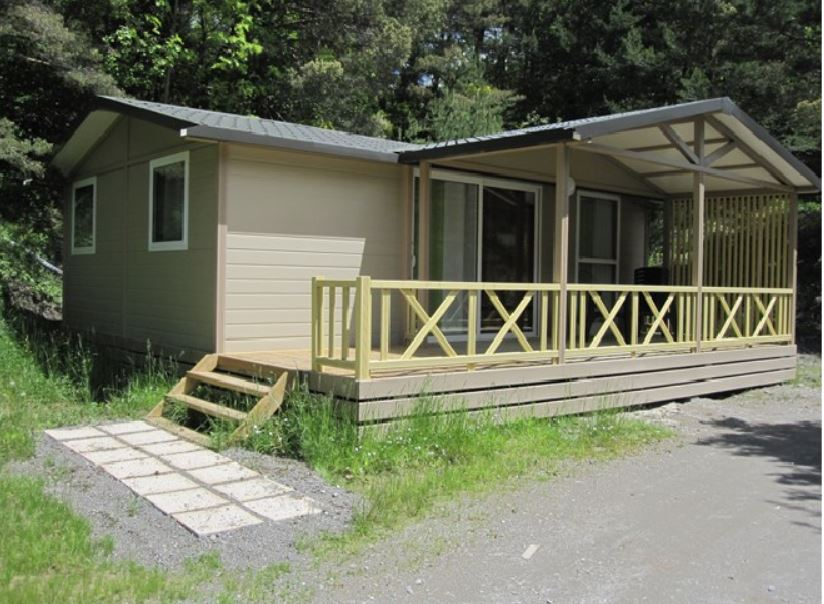 COTTAGE GRAND CONFORT 3 CHAMBRES 6 PERSONNES, mobile-home to rent, caravan, barrel, chalet, bedroom
